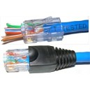 EZ-RJ45 CAT5E CONNECTOR *SOLD AS EACH*