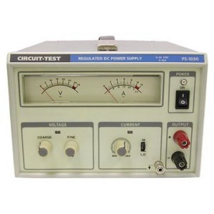 Circuit-Test Single Output Power Supply - 0-30VDC, 10A