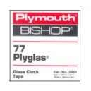 Plymouth 77 PLYGLAS® - Pressure Sensitive Glass Cloth Tape 1/2 In.