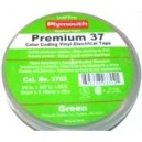 Plymouth Premium 37 - 7 mil Professional Grade Colour Coding Tape - Green