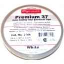 Plymouth Premium 37 - 7 mil Professional Grade Colour Coding Tape - White