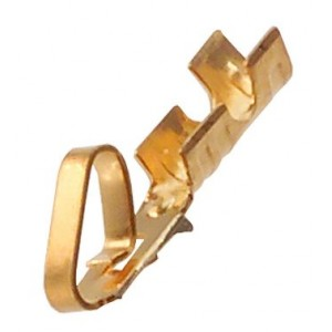 KK(R) 22-30AWG Gold Plated Crimp Contact(F)